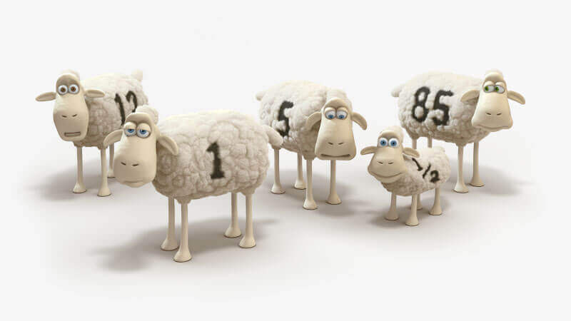 serta counting sheep flock