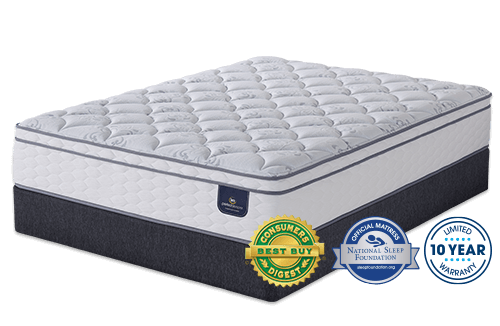 Perfect Sleeper Freeport Euro Top Mattress By Serta