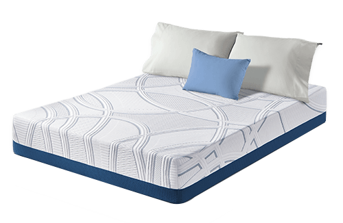 Mattress cover with zipper Bed Select Your Foundation Queen Mattress Only Allergy Control Products Serta Sleeptogo 12 Inch Gel Memory Foam Mattress