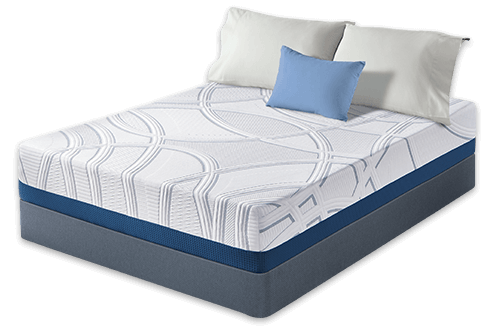 serta sleeptogo 12 inch gel memory foam mattress - Memory Foam Mattress