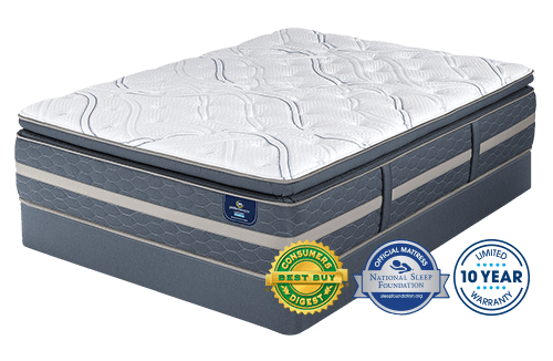 d25432e1c Serta Perfect Sleeper Elmridge Super Pillow Top Mattress