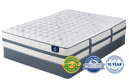 4f7e369bd Serta Luxury Hybrid Oakbridge II Firm Perfect Sleeper Mattress