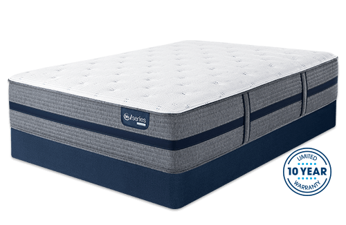Memory Foam Hybrid The Iseries 500 Cushion Firm Mattress Combines Serta S