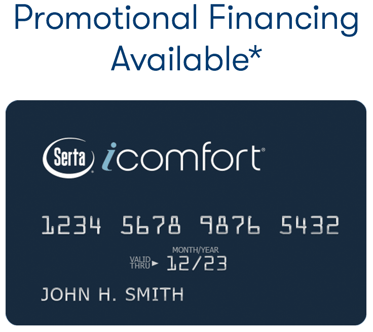 Apply For Promotional Financing Today | Serta com
