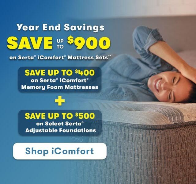 Serta iComfort Black Friday Save up to 900