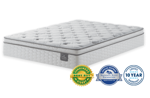 with by mattress memory top only ps firm perfect size pillow sleeper wagner serta pin luxury pillowtop foam king