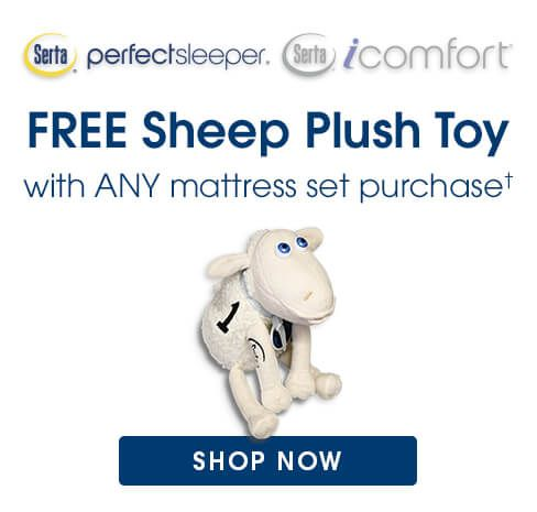 free sheep plush offer