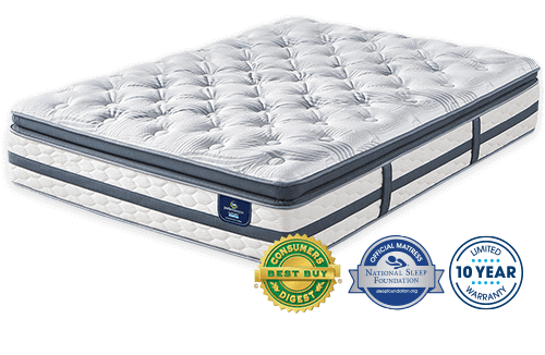 Serta Perfect Sleeper Glenmoor Super Pillow Top Mattress