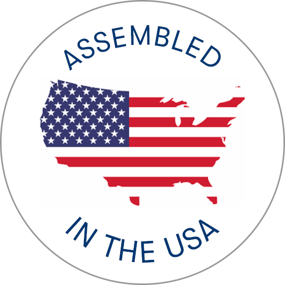 assembled in the USA seal