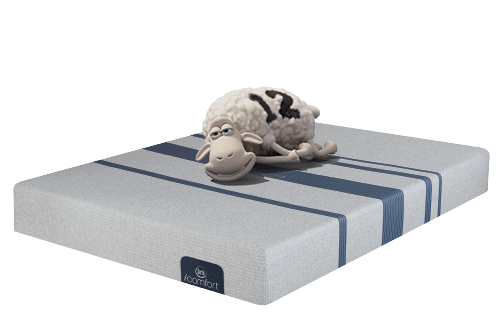 icomfort memory foam mattress with sheep
