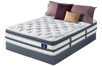 perfect sleeper glenmoor super pillow top