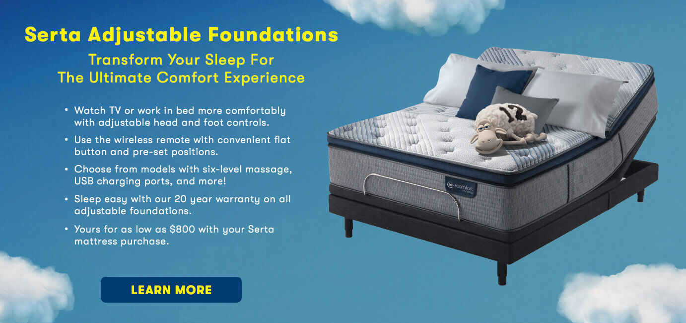 Serta adjustable foundation benefits