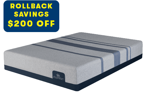 Serta Icomfort Blue Max 1000 Cushion Plush Mattress
