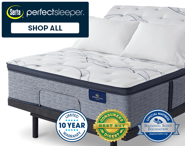 perfect sleeper mattress on adjustable base
