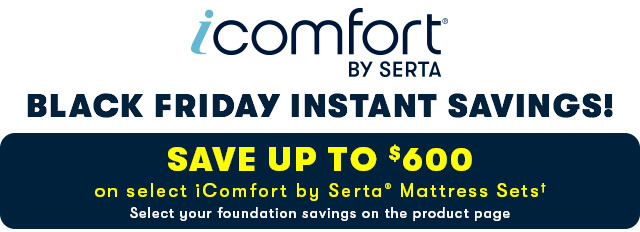 Serta iComfort Black Friday Savings