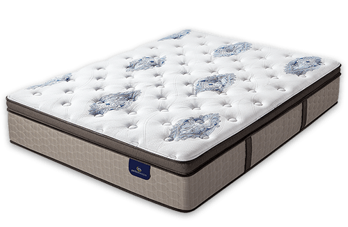Serta Perfect Sleeper Baymist Cushion Firm Pillow Top
