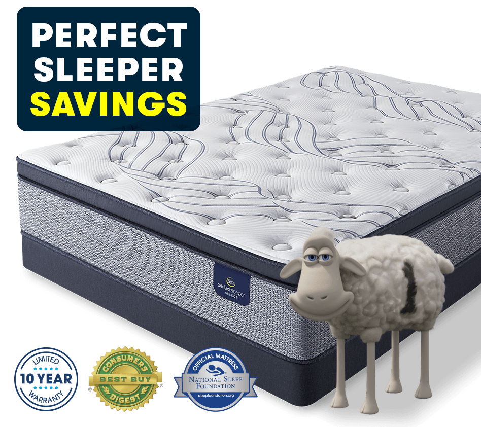 Serta Perfect Sleeper Super Savings
