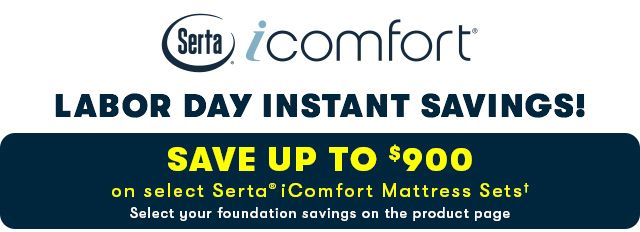 Serta iComfort Labor Day Savings