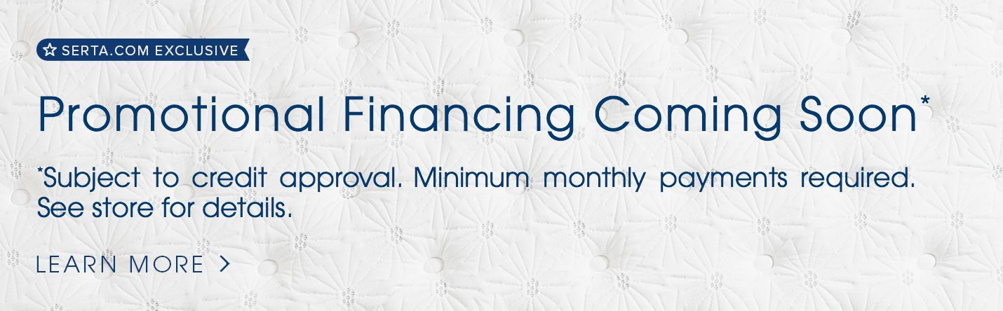 60 month financing Serta.com exclusive