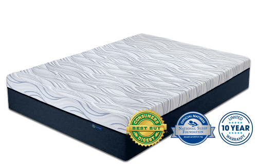 on mattress series firm serta perfect cushion shop sleeper woodbriar iii amazing deal set king