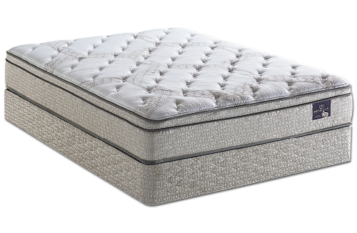 Serta Perfect Sleeper Hanslow Plush Innerspring Mattress Set