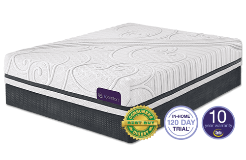 Savant Iii Plush Mattress By Serta