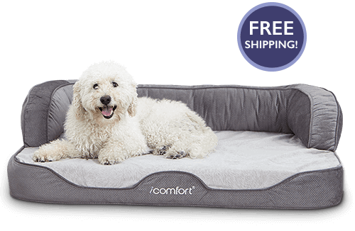 Serta iComfort Sofa Sleeper Gel Memory Foam Pet Bed