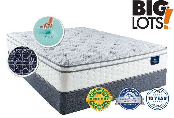 Serta Stay Mattress In A Box At Big Lots Serta Com