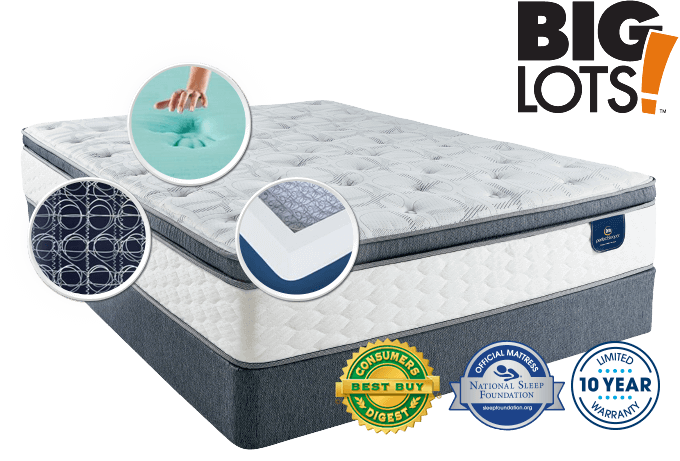 Serta Perfect Sleeper Limited Edition Evans Medium Mattress