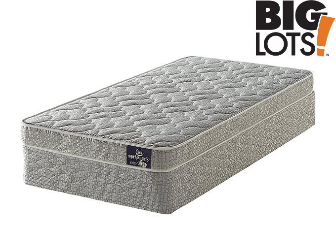 serta twin mattress big lots Serta Perfect Sleeper Allerton Firm Mattress serta twin mattress big lots