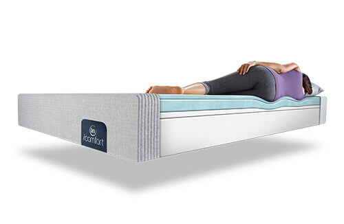 Twin Mattress Set Under 100 Simmons Bartola Plush Collection Serta Perfect Sleeper Elite
