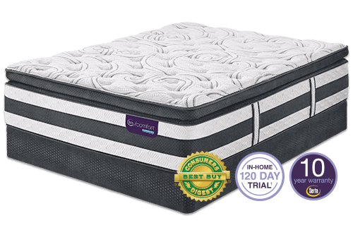 Icomfort Expertise Pillow Top Mattress By Serta Medium Plush