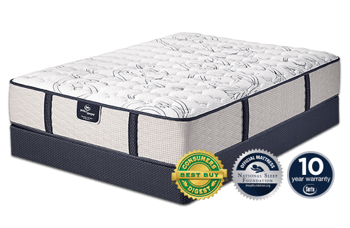 Perfect Sleeper Capetown Queen Mattress Set Firm