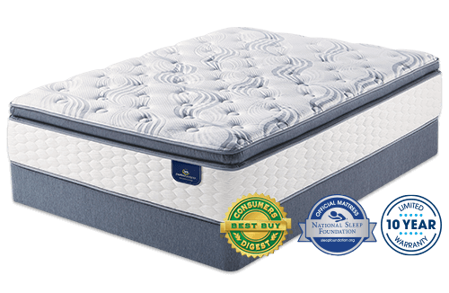 Serta Select Kirkville Plush Super Pillow Top Perfect