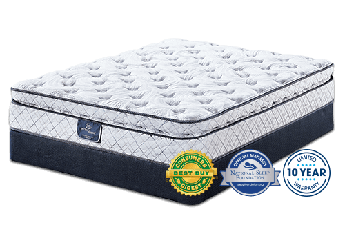 Harmonize Super Pillow Top Mattress By Serta