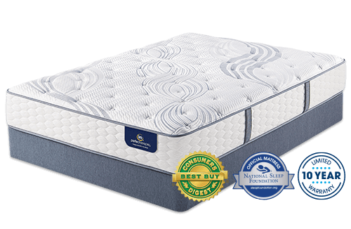 Serta Elite Visby Lake Plush Perfect Sleeper Mattress