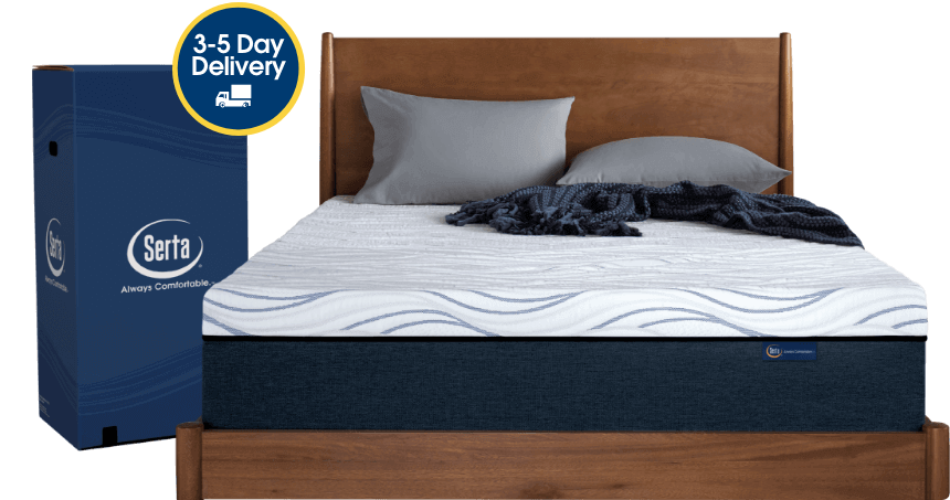 perfect sleeper mattress on bed frame