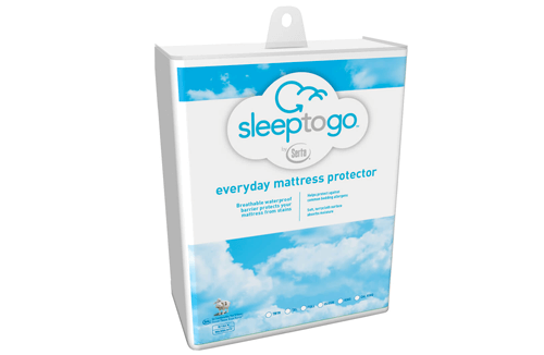 sleep to go by serta everyday mattress protector