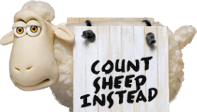 count sheep instead